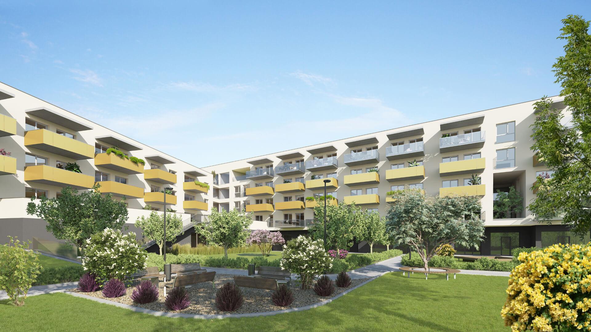 Neubauherrenmodell - 8020 Graz, Köstenbaumgasse 1 - Gartenansicht