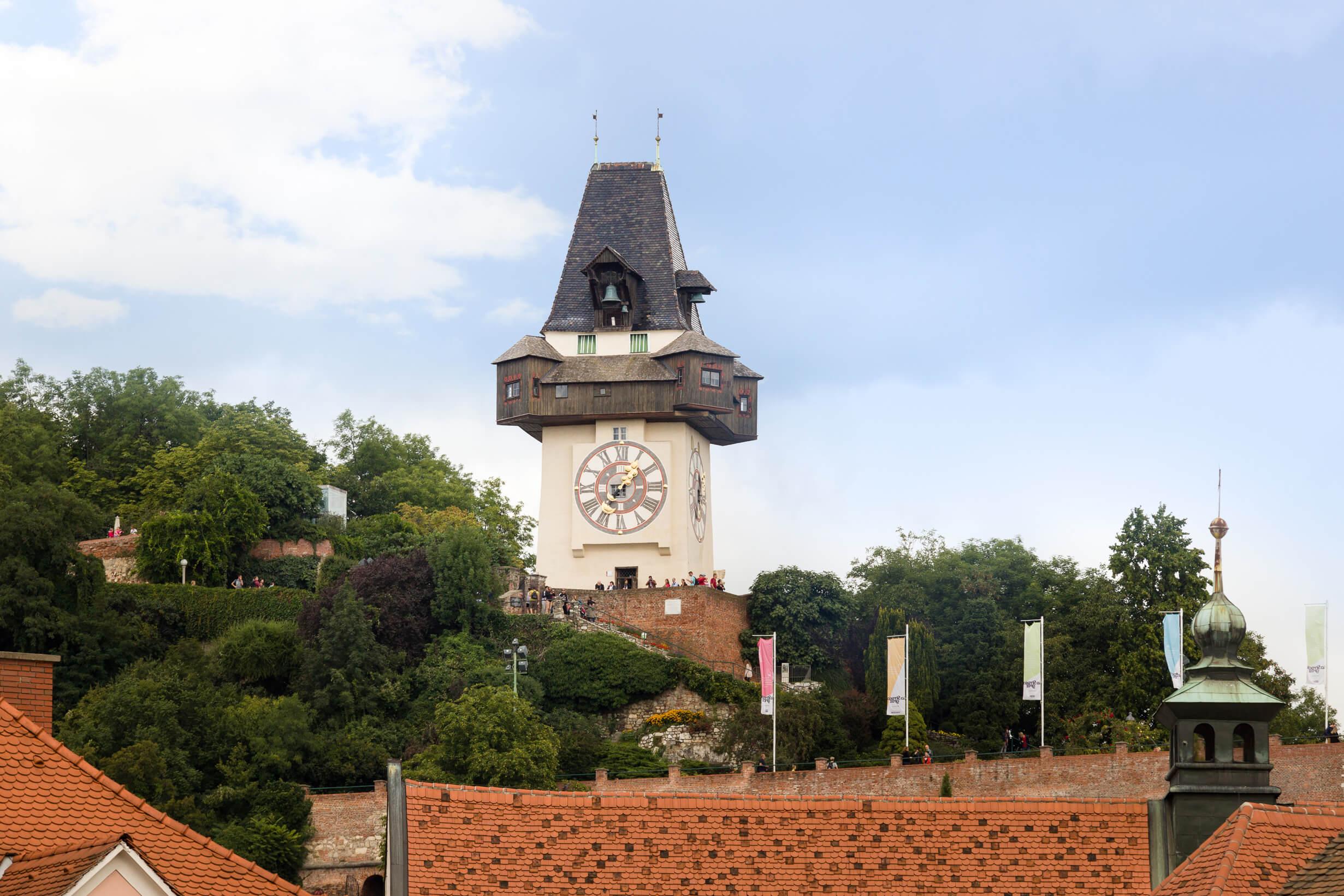 Neubauherrenmodell - Wohnen am Park 8020 Graz, Idlhofgasse 48 - Uhrturm