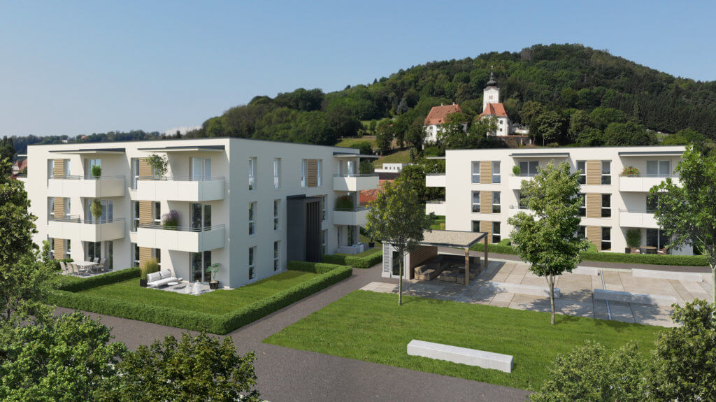 Neubauherrenmodell - 186 Grad Wohnensemble Graz Süd - Haus A/B