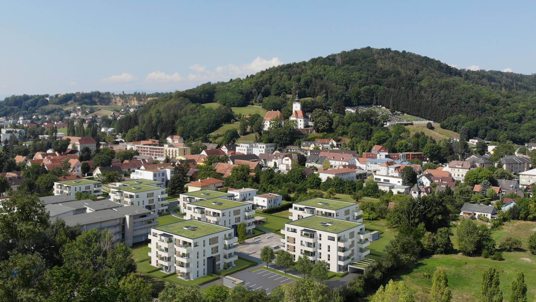 Neubauherrenmodell - 186 Grad Wohnensemble Graz Süd