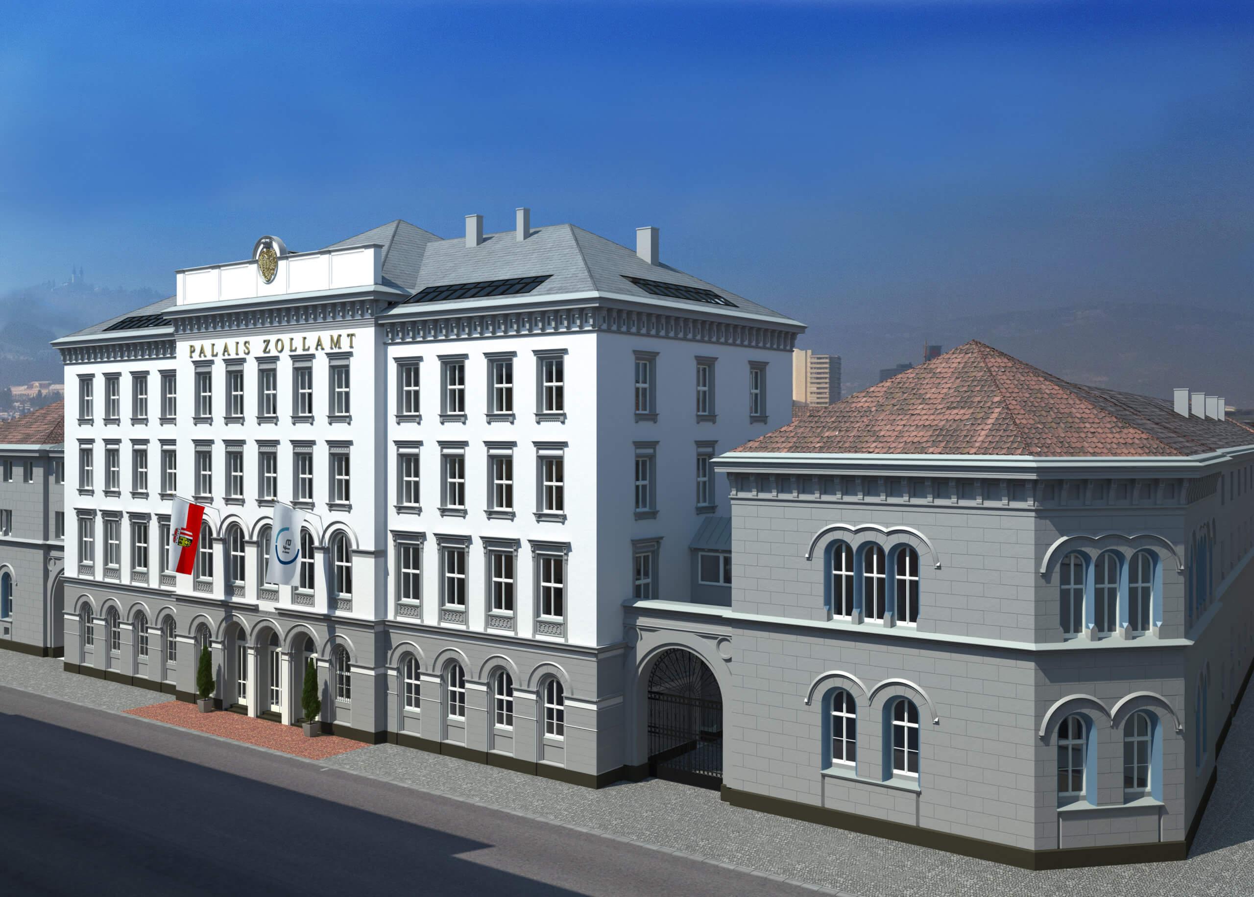 Prime-Immobilie - Palais Zollamt
